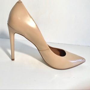 Steve Madden Proto Pump Pointed Toe Blush/ Nude 11